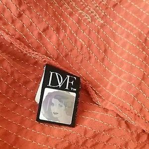 Diane Von Furstenberg Dresses - DVF Silk Cordie dress in sienna